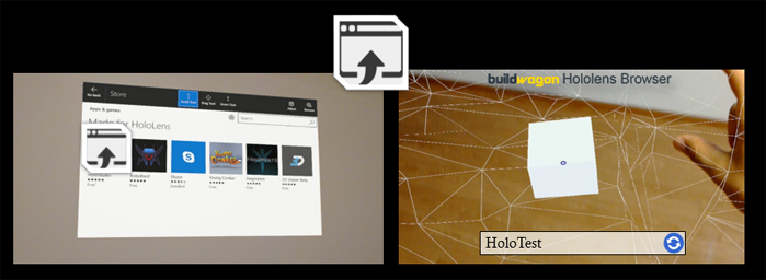 buildwagon hololens app browser